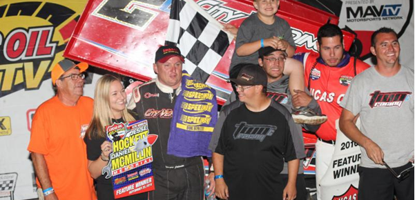 Johnson, Weyant capture Night Two Hockett/McMillin Memorial wins at Lucas Oil Speedway