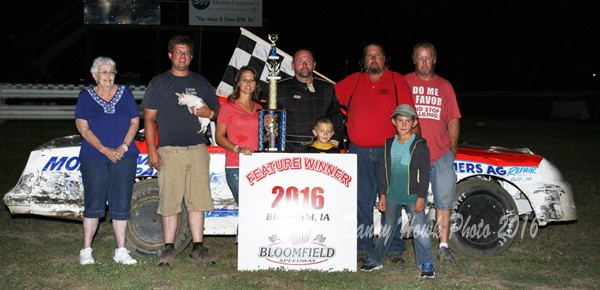 Taft, Thrasher, McDaniel and Hughes Take Final Checkers at Bloomfield in 2016