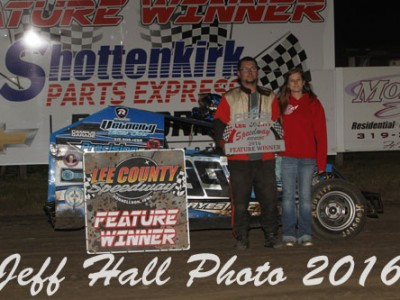 "Gustin and May Sweep the ""5th Annual Fall Extravaganza"" at Lee County"