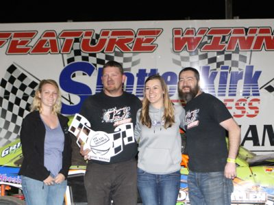 Woodworth, Marriott, Agee, Lennox, and DeMint Open Lee County Speedway With Wins