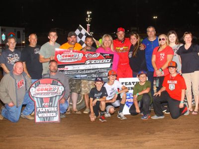 Jack Sullivan Again on Top with CCSDS at Hammer Hill