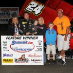 Late Pass Gives Terry McCarl Electric Win with Sprint Invaders in Donnellson!
