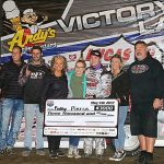 Pierce tackles Davenport's topside for $3,000 win