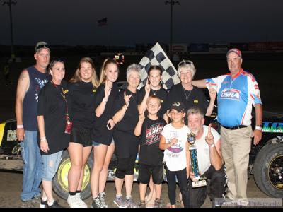 Seeburg Mufflers Night at I-35 Speedway Winston, MO!!!