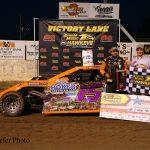 Kay starts history-making night with winin Arnold Motor Supply Hawkeye Dirt Tour