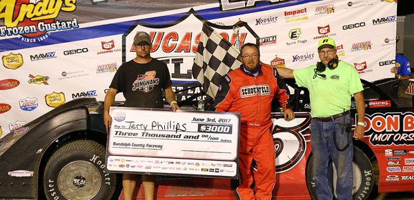 Phillips tops field at Randolph County Raceway