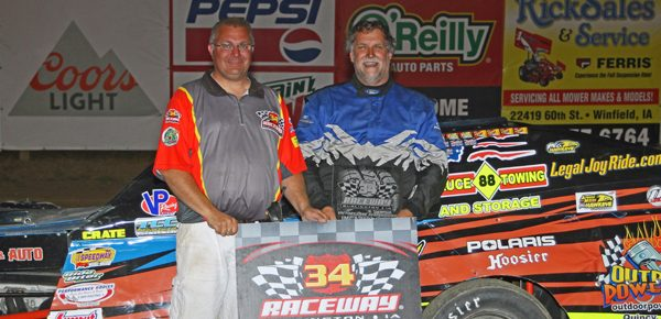 Jamison, Waterman and Miller Claim First Wins of the Season at 34 Raceway
