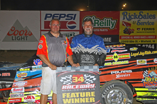 jamison waterman and miller claim first wins of the season at 34 raceway heartland motorsports. Black Bedroom Furniture Sets. Home Design Ideas