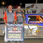 Paris Tops IMCA Stock Car Special at 34 Raceway