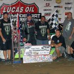 Owens Survives Battle with Lanigan to Win at Florence