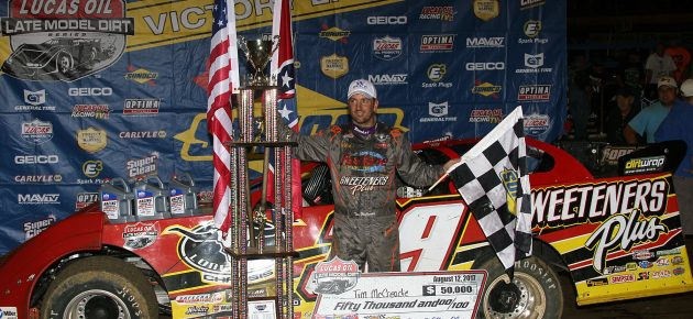 McCreadie Charges to First-Career North/South 100 Victory!