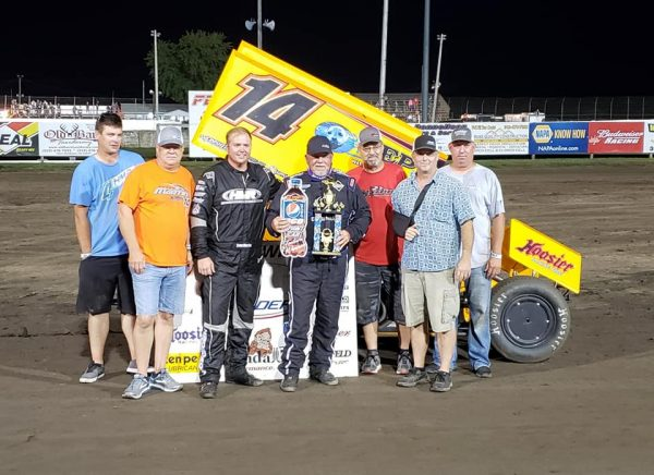 Deery Brothers Iowa City >> Randy Martin Wins Thriller with Sprint Invaders at Lee County! : Heartland Motorsports