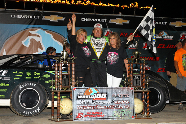 Deery Brothers Iowa City >> Bloomquist Charges Through The Field At Eldora Speedway To ...