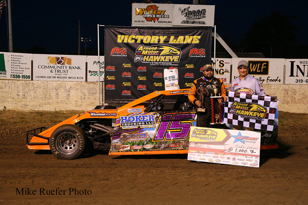 Deery Brothers Iowa City >> Kay starts history-making night with win in Arnold Motor ...