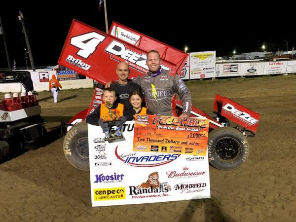 "Deery Brothers Iowa City >> Jon Agan Tops Night #1 of Sprint Invaders ""Fall Haul"" at ..."
